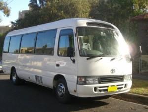 toyota coaster minibus
