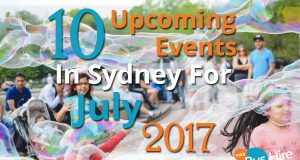 10 Upcoming Events In Sydney For July 2017