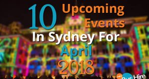10 Upcoming Events In Sydney For April 2018