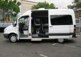 11 Seat Luxury Mini Bus (White)