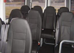 11 Seat Luxury Mini Bus (White)
