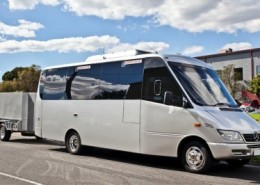 21 Seat Luxury Mini Bus